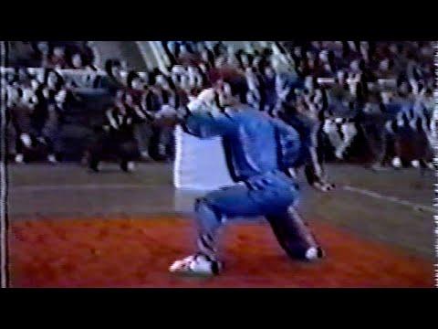 【武術】1984 男子長拳  張成忠(江蘇) / 【Wushu】1984 Men Changquan Zhang Chengzhong (Jiangsu)