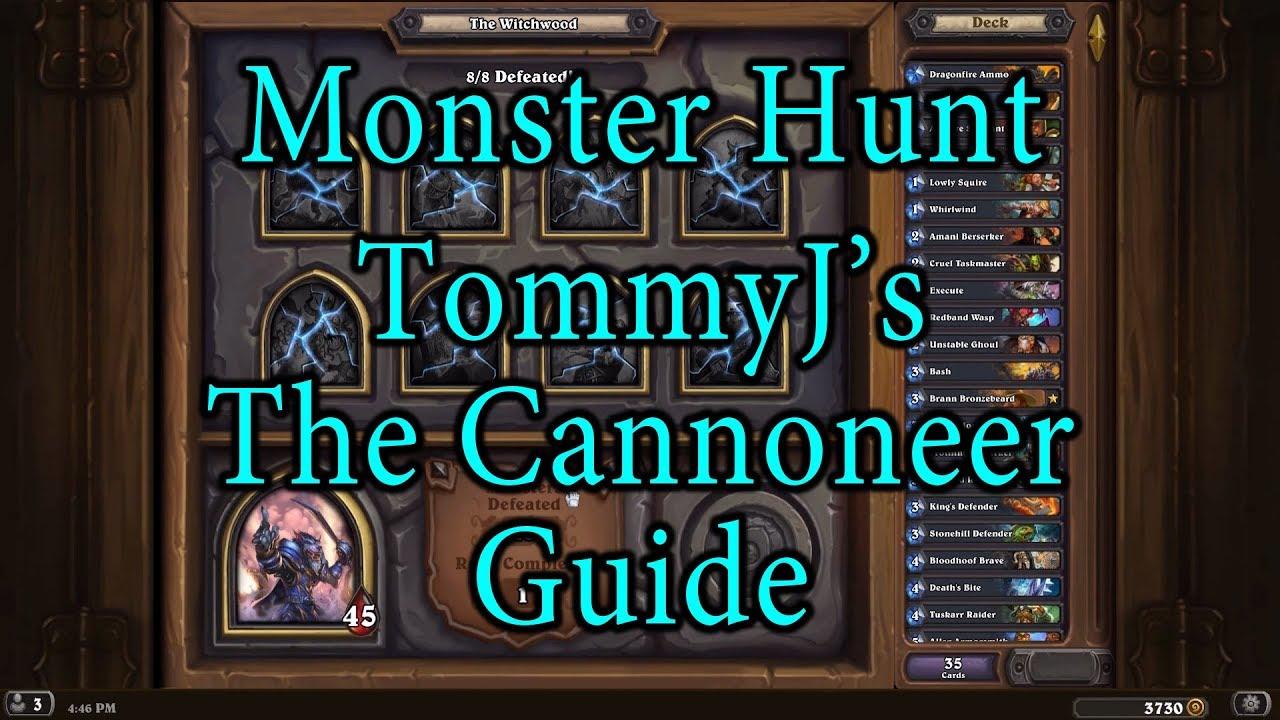 hearthstone monster hunt guide