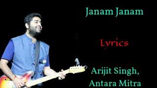 JANAM JANAM LYRICS   ARIJIT SINGH, ANTARA MITRA   PRITAM, AMITABH B   SHAH RUKH K, KAJOL   DILWALE