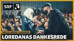 Loredana: So hat sie sich für ihren Award bedankt | Swiss Music Awards 2020