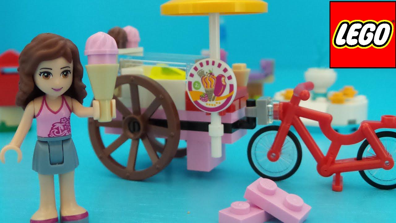 Lego friends olivia s ijskar uitpakken en bouwen unboxing
