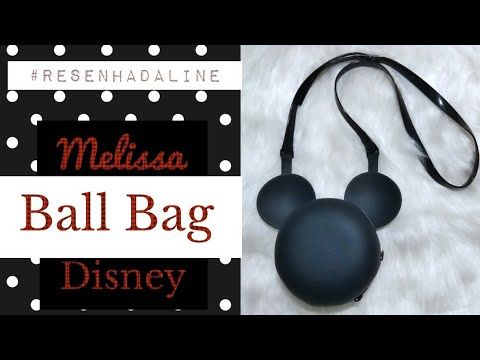 e8ac585799 Melissa Ball Bag Disney (BOLSA DO MICKEY)