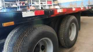 40' Flatbed Trailer for sale $8,500 lots of extras!