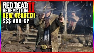 RED DEAD REDEMPTION 2 ONLINE XP AND MONEY OPEN LOBBY| (PS4)