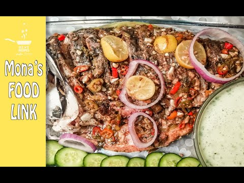 Steamed Fish | Without steamer | Healthy & Spicy 🌶| Simple Recipe | Mona's Food-Link