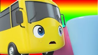 Playing Skittles Songs - Go Buster the Yellow Bus | Nursery Rhymes & Cartoons | LBB Kids