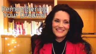 Remembering Your Dreams: Helpful Tips to Try