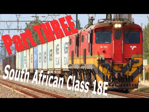 Transnet Freight Rail - South African Class 18E - Part Three