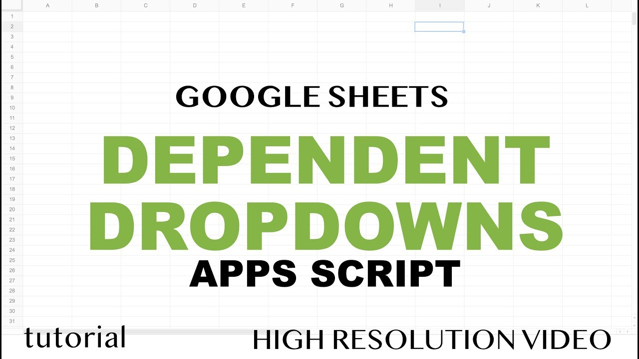 Google sheets dependent dropdown list for entire column app google sheets dependent dropdown list for entire column app scipt run on user input part 1 baditri Image collections