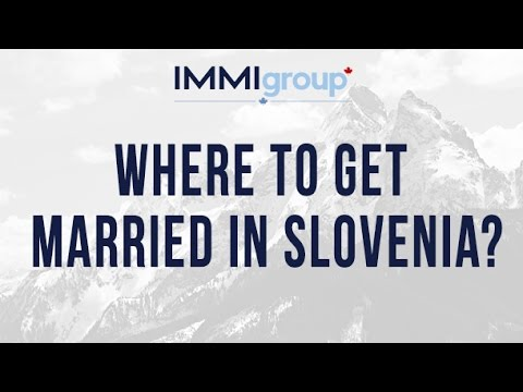 Where to get married in Slovenia?