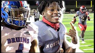 #2 In The Nation 🔥🔥  North Shore vs West Brook  | Texas High School Football | UTR Highlight Mix