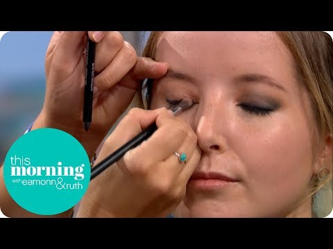 How to Get the Perfect Smokey Eye | This Morning thumbnail