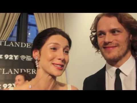 outlander series cast dating