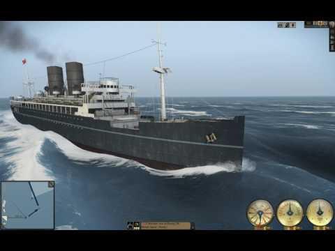 Silent Hunter 5: GAME PLAY- Large Passenger Ship