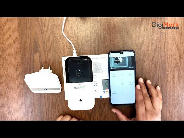 How to configure & Install Wi-Fi Smart Doorbell NexaKey | Digimark Solution | স্মার্ট ভিডিও ডোরবেল