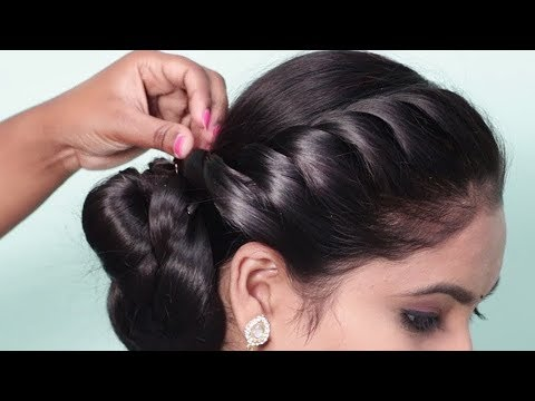 Latest Party hairstyles for long hair ★ Easy hairstyle for beginners step by step ★ hair style girl thumbnail