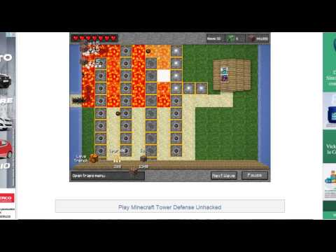Minecraft Tower Defense (Hacked)