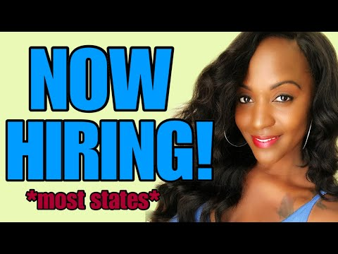 Hiring From Most States! New Work From Home Job ~ 12-4-19