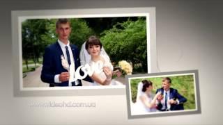 Вступление к свадьбе проект «Свадебные слайды» / Свадьба Житомир / Вступ до весілля Житомир