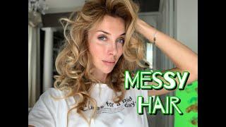 MESSY Hair - ОБЪЕМНАЯ укладка - пышные локоны