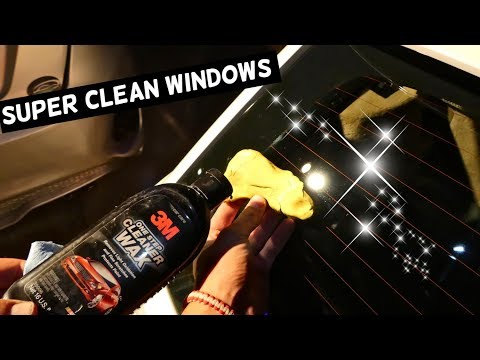 HOW TO CLEAN CAR WINDOW. Amazing Results