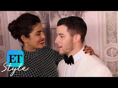 Priyanka Chopra and Nick Jonas Channel Meghan Markle and Prince Harry at #NYFW