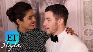 Priyanka Chopra and Nick Jonas Channel Meghan Markle and Prince Harry at #NYFW