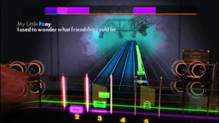 The Mane 6 - My Little Pony Theme (Lead) Rocksmith 2014 CDLC