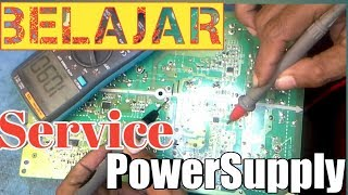 vuclip Belajar Service Power Supply TV Lcd Sharp Lc-32M400M Mati Total