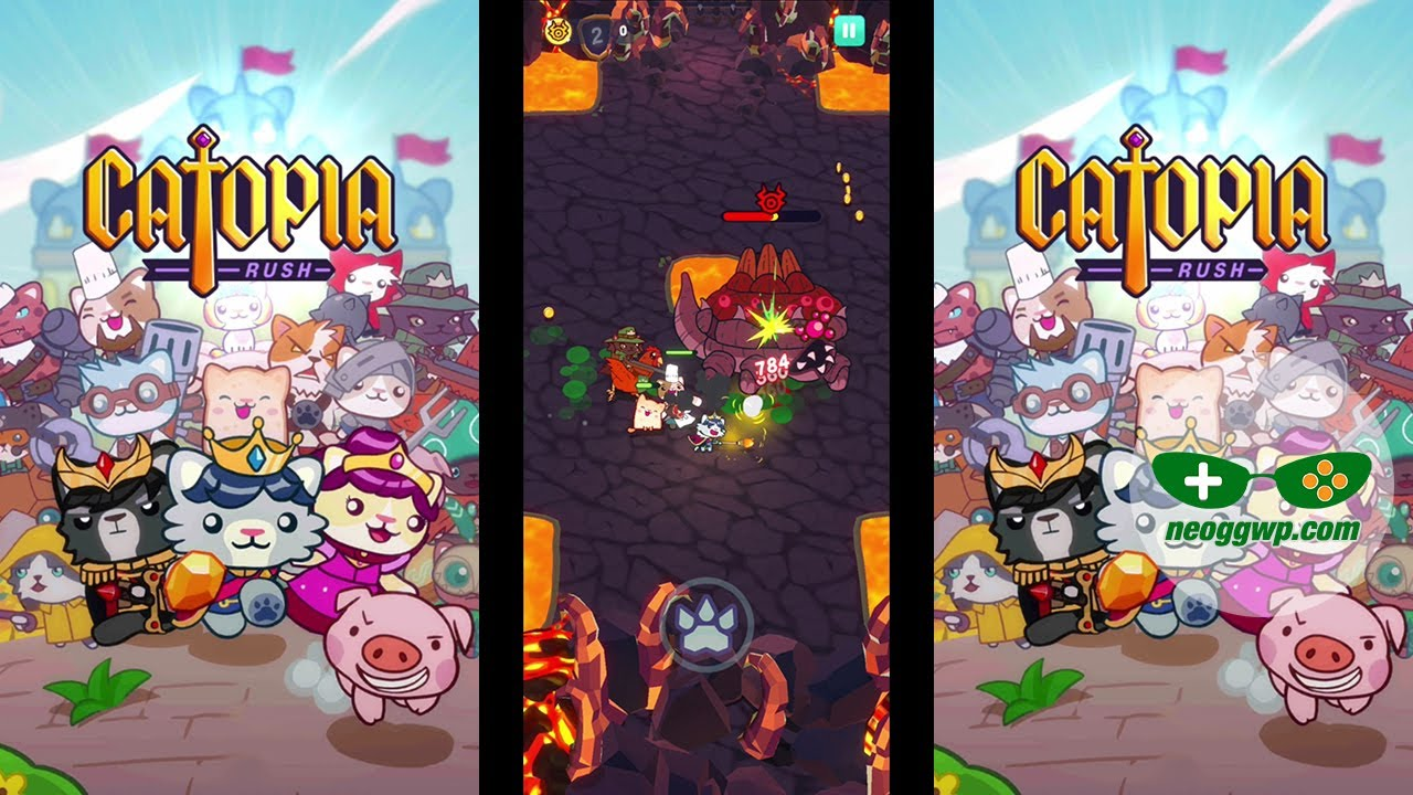 Catopia: Rush (CBT) (Android APK) - Action Gameplay Chapter 1 - YouTube