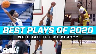 TOP 50 PLAYS OF 2020!!  Sharife Cooper, Jalen Green, Mikey Williams, & More!! 🔥