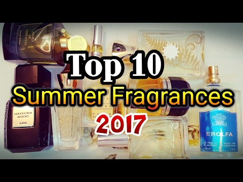 ULTIMATE SUMMER FRAGRANCES Top 10 | Exotic Scents