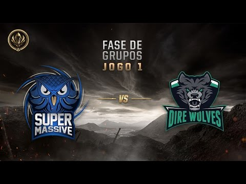 SuperMassive x Dire Wolves (Fase de Entrada - Dia 1) - MSI 2017