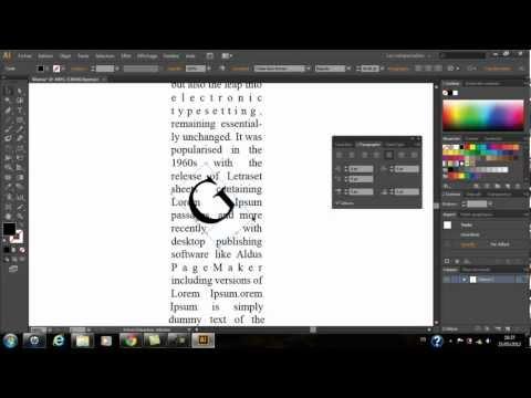 Photoshop Cs6 - illustrator Cs6 Create a Typographical Shape