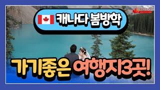 캐나다 봄방학 아이들과 떠나는 추천 여행지!!  YOL…