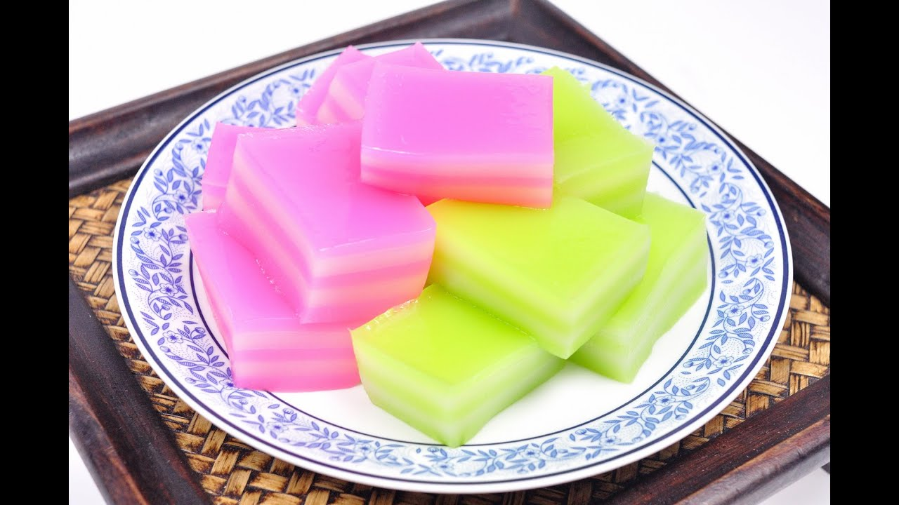 Thai Steamed Layer Cake