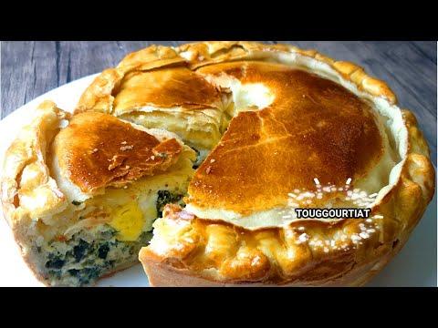 spinach-pie-مملحات/فطيرة-تارت-السلق-او-السبانخ