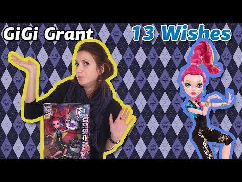 Обзор на GiGi Grant 13 Wishes (Джи Джи Грант 13 Желаний Школа Монстров) Y7709