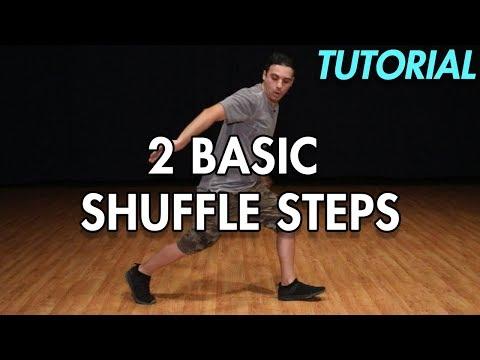 How to do 2 Basic Shuffle steps (Shuffle Dance Moves Tutorial) MihranTV