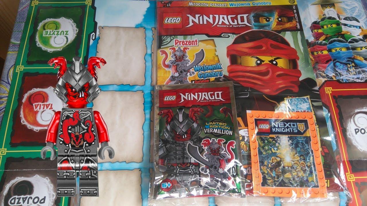 Nowość Magazyn Lego Ninjago 62017 26 Figurka Vermillion