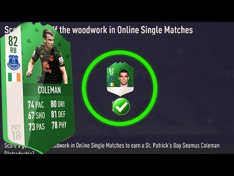 FIFA 18 Coleman Tutorial: Score a Goal off te woodwork in online single match: Weekly Challenge