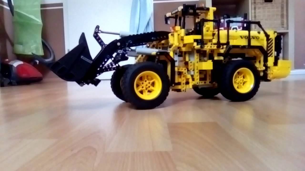 lego technik volvo l 350 f radlader youtube. Black Bedroom Furniture Sets. Home Design Ideas