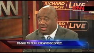 One-on-One With President of Sergeants Benevolent Association