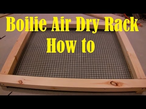 Boilie Air Dry Rack How To Tutorial Video For Carp Fishing Baits