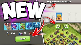NEW Deployment Bar Sizes + Army Sharing! Clash of Clans Update 2021