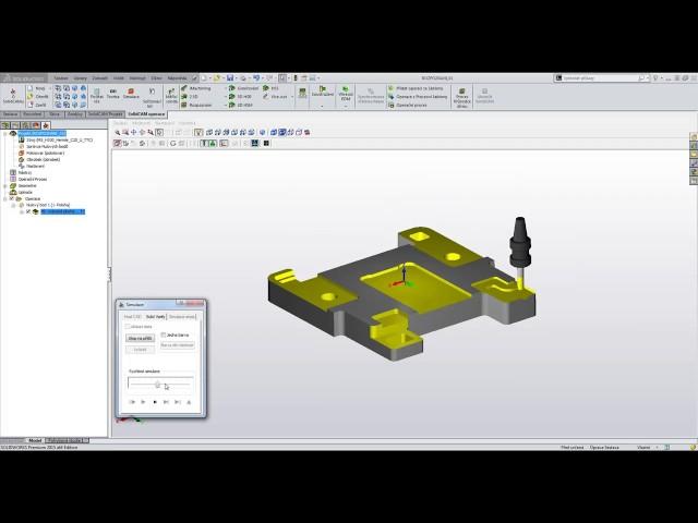 SolidCAM CZ 2016 01 Automatické rozpoznávání prvků a jejich obrábění
