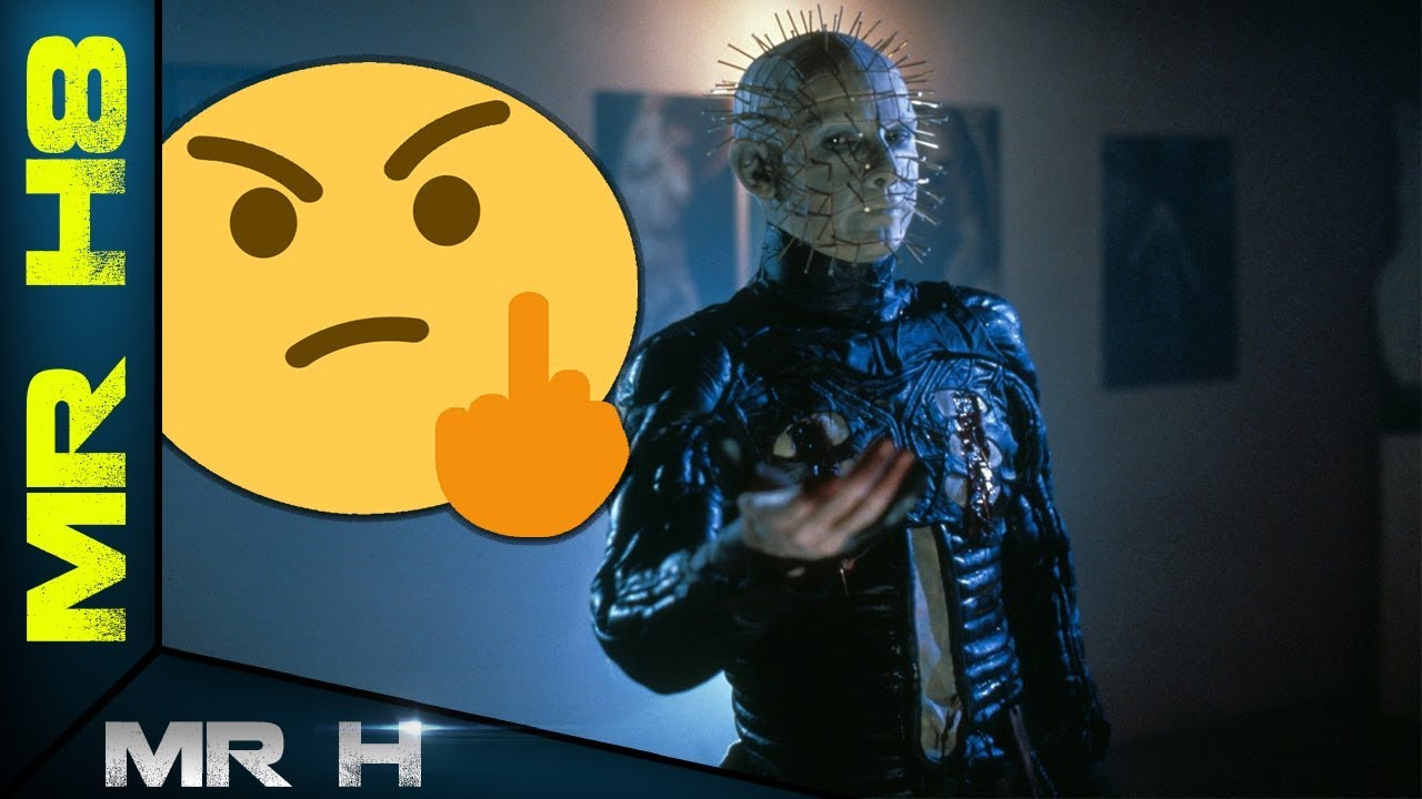 I HATE HELLRAISER HELL ON EARTH - MR H8 REVIEWS