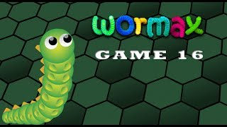 Wormax Game play. Episode 16. Wormax Best Results Game Soon
