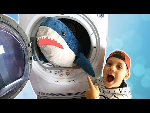 Pretend Play Washing Toys | TimKo Kid Helps Mommy with Washing Machine