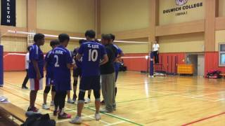 CMIS 2016~2017 volleyball vid